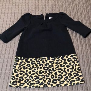 Gymboree Girls dress size 4 Leopard Print LIKE NEW